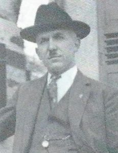 1. Vorsitzender Johannes Ast 1928